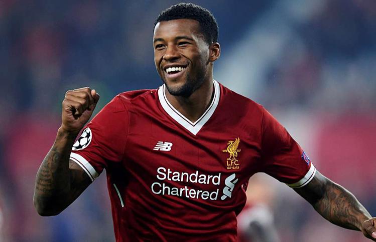 Wijnaldum và Liverpool sẵn sàng cho mùa giải Ngoại hạng Anh. Ảnh:AFP.