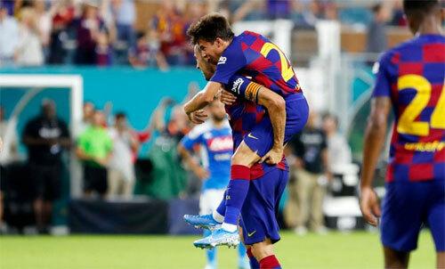 Busquets vẫn đóng vai trò rất lớn với Barca.