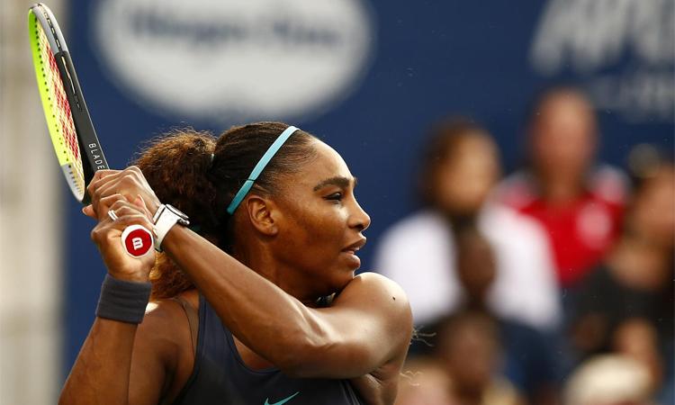 Serena đang tìm kiếm danh hiệu thứ tư tại Rogers Cup. Ảnh: WTA.