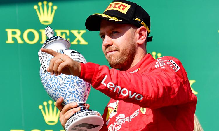 Vettel có thể hài lòng khi về thứ ba tại Grand Prix Hungary, nhưng chiếc SF90 vẫn còn nhiều điểm yếu cần khắc phục. Ảnh: Motorsport.