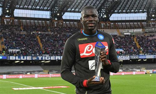 Koulibaly là một trong những trung vệ hàng đầu Serie A. Ảnh: Reuters