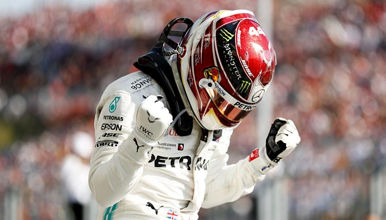 Hamilton - tay đua năm lần vô địch thế giới -luôn có tinh thần cầu tiến. Ảnh: Motorsport.