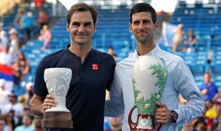 Djokovic chung nhánh Federer ở Cincinnati Masters 2019