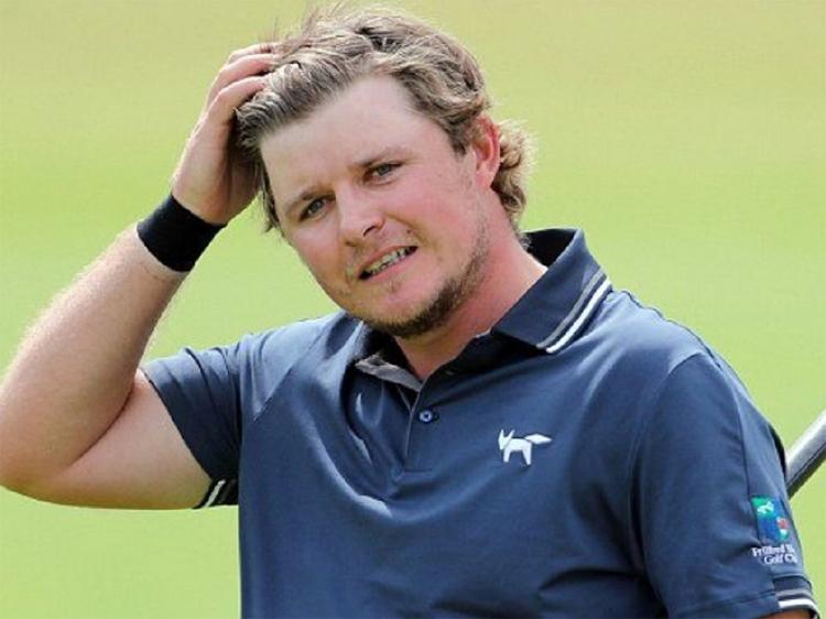 Eddie Pepperell là golfer mới nhất đăng đàn chỉ trích De Chambeau, nhưng phải xin lỗi vì quá lời. Ảnh: Golf Channel.