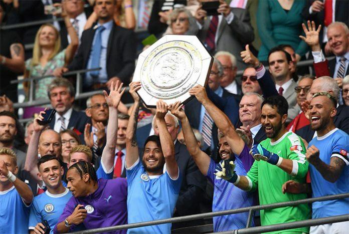Man City vừa giành Siêu Cup Anh 2019 sau khi hạ Liverpool. Ảnh: PA.