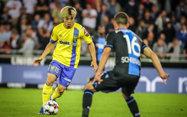 Công Phượng mới chỉ được vào sân từ băng ghế dự bị trong trận Sint-Truiden thua Club Brugge 0-6.