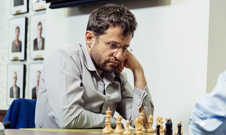 Aronian đang có phong độ cao ở cả ba nội dung cờ: tiêu chuẩn, nhanh, chớp. Ảnh: GCT.