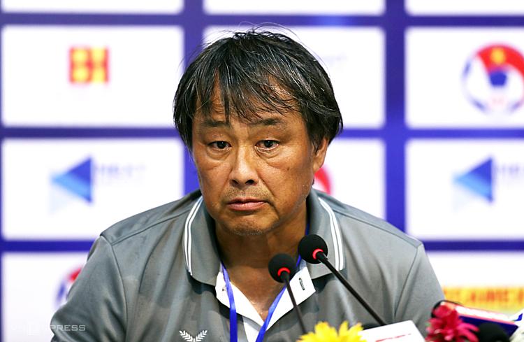 HLVGyotoku Koji đánh giá cao tiềm năng của bóng đá Việt Nam và Thái Lan. Ảnh: Đức Đồng.
