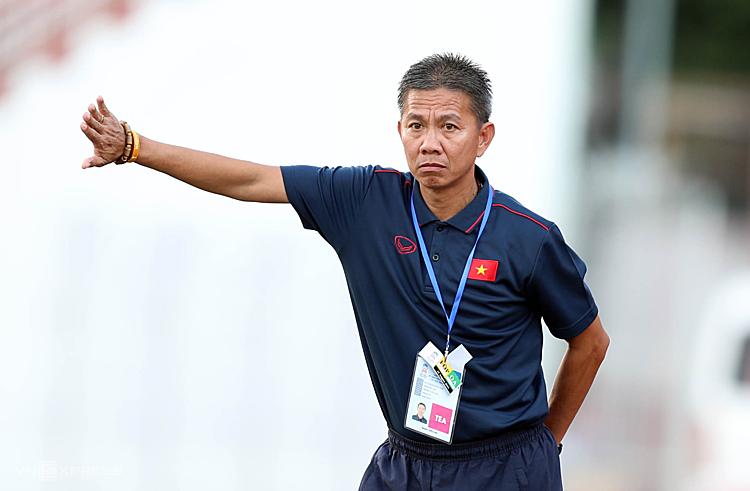 HLV Hoàng Anh Tuấn đã trải qua giải đấu không thành công cùng U18 Việt Nam trên sân nhà. Ảnh: Đức Đồng.