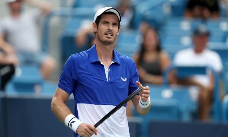 Murray đưa ra quyết định khi chưa xem xét kỹ điều kiện chỉ đánh ba set ở vòng loại. Ảnh: ATP.