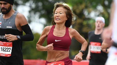 Rice cần ba lần thử mới chinh phục được kỷ lục thế giới chạy half marathon.