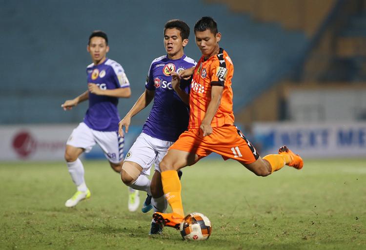 Hà Nội năm thứ sáu không thua khi đối đầu Đà Nẵng.