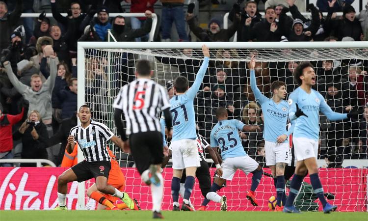 Newcastle của Benitez là đội gần nhất đánh bại được Man City tại Ngoại hạng Anh.