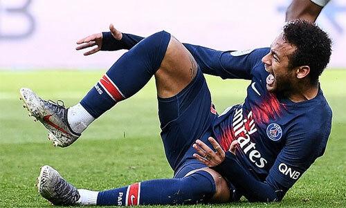 Neymar liên tục chấn thương trong một năm rưỡi qua.