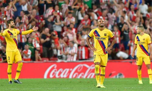 Giữa lúc CĐV Bilbao mừng chiến thắng, CĐV Barca kêu gọi đưa Neymar trở lại.
