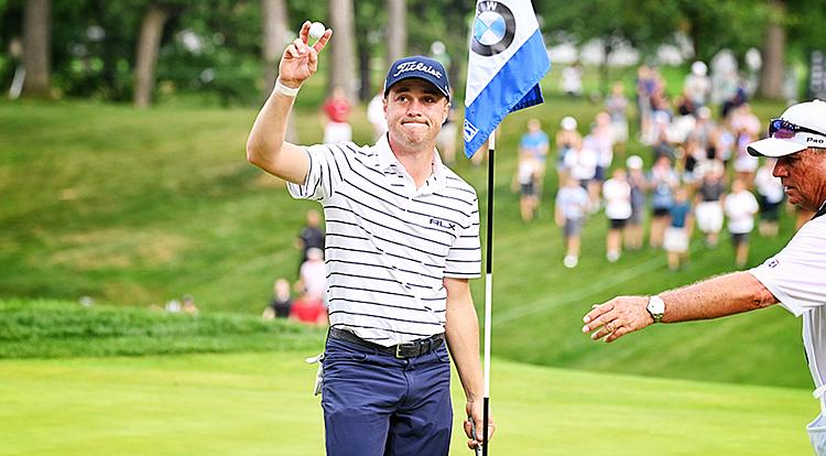 Thomas tràn trề hy vọng giành danh hiệu PGA Tour thứ 10. Ảnh: PGA Tour.