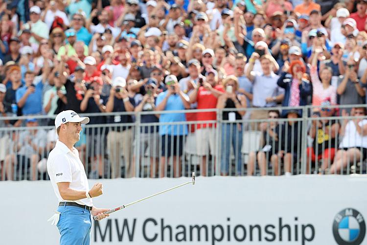 Thomas birdie 27 lần tại BMW Championship, nhiều nhất giải. Ảnh: PGA Tour.