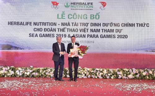 Herbalife treo thưởng 400 triệu cho 20 VĐV đầu tiên đoạt huy chương vàng - 1