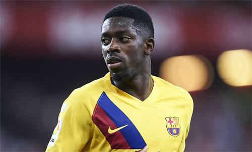 Dembele thường xuyên dính chấn thương trong thời gian khoác áo Barca.