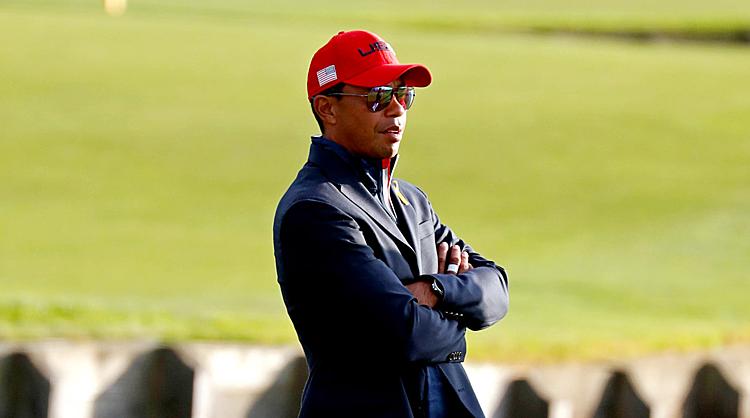 Woods có thể sẽ vừa chỉ đạo, vừa thi đấu ở Presidents Cup 2019 tại Australia. Ảnh: Golf.com.