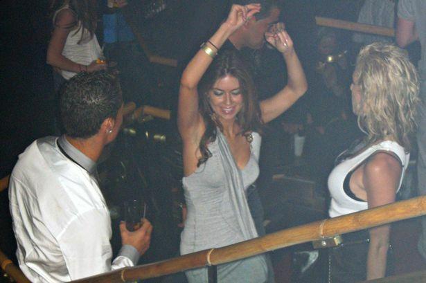 Ronaldo (trái) và Kathryn trong hộp đêm ở Las Vegas hồi năm 2009. Ảnh: Matrix.