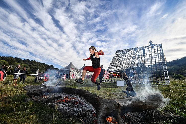 Spartan Race tại Việt Nam sẽ có nội dung vượt chướng ngại vật là lửa.