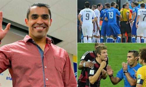 Marco Rodriguez có niềm đam mê bất tận với sân cỏ.