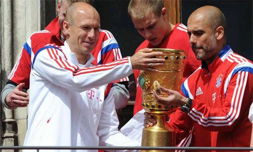 Robben thi đấu hay hơn sau khi có Guardiola.