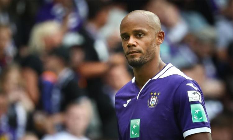 Kompany chuyển đến Anderlecht sau khi chia tay Man City hè này.