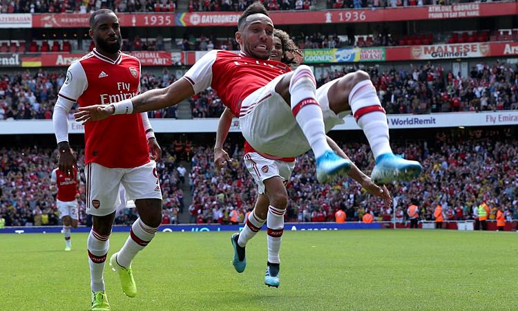 Arsenal khởi đầu tốt và khiến người hâm mộ lạc quan. Ảnh: PA.