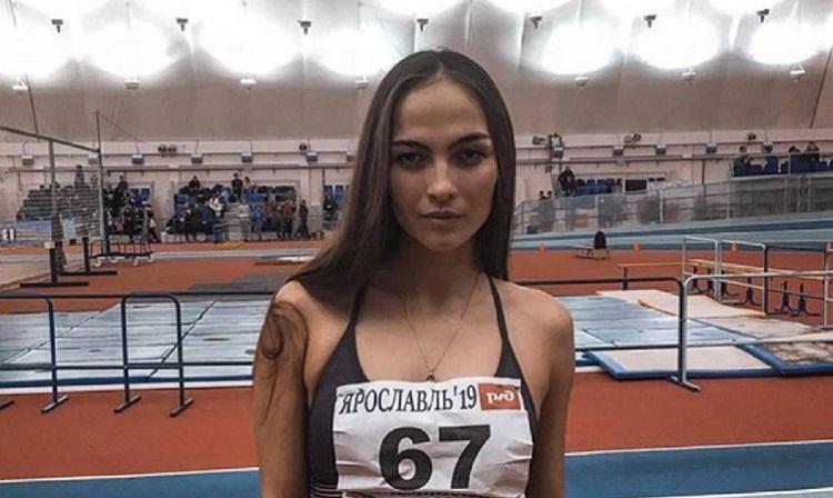 Plavunova đang nỗ lực tập luyện vì mục tiêu giành vé dự Olympic. Ảnh: AS.