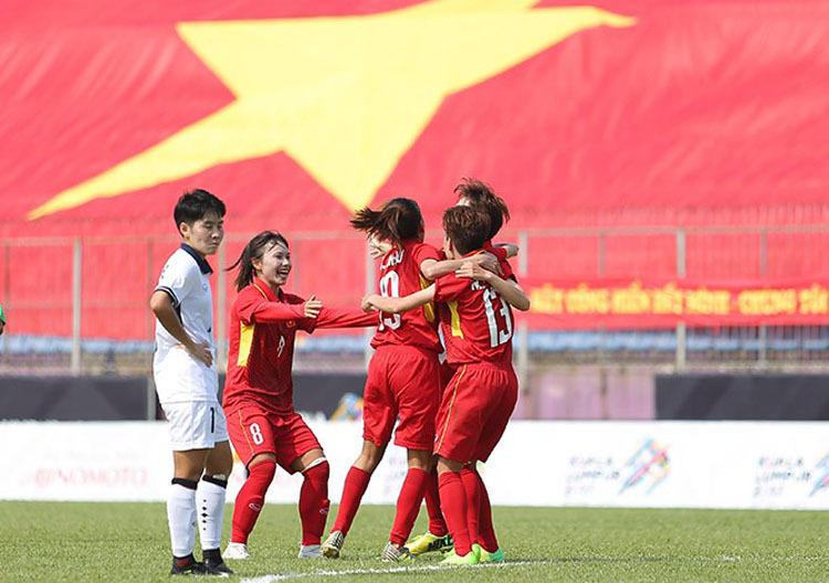 Mục tiêu của tuyển nữ Việt Nam là giành chức vô địch Đông Nam Á.