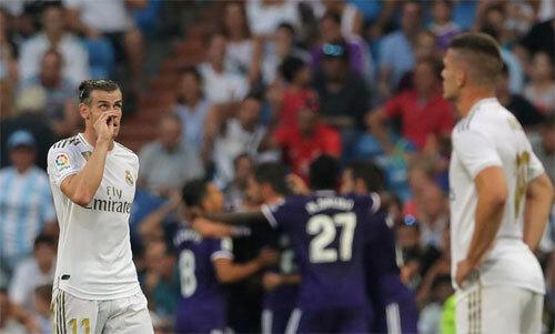 Bale và hàng công chơi dưới sự mong đợi. Ảnh: Reuters