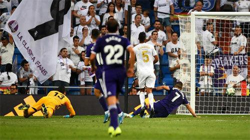 Guardiola khiến Real mất điểm.