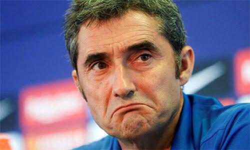 Valverde đang đối mặt với thách thức thiếu cầu thủ. Ảnh: Marca
