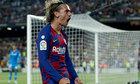 Griezmann lập cú đúp trong chiến thắng của Barca