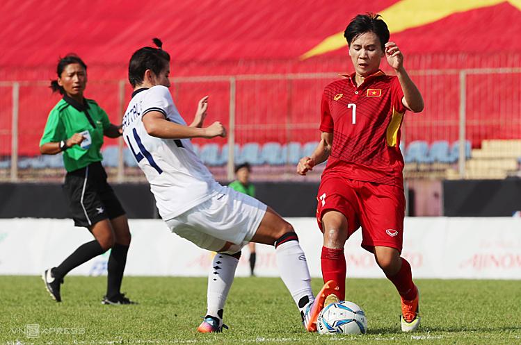 Tuyết Dung và các đồng đội liệu có chấm dứt được sự thống trị Đông Nam Á của bóng đá nữ Thái Lan. Ảnh: Đức Đồng.