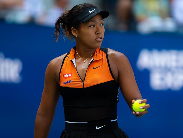 Osaka cứu thành công 9 trong 11 break-point phải đối mặt. Ảnh: WTA.