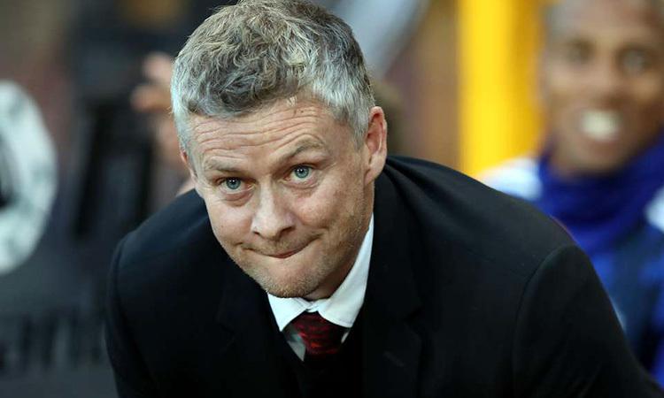 Thành tích của Man Utd dưới thời Solskjaer ngày càng tụt lùi. Ảnh: PA.