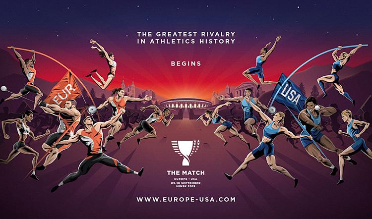 Các nhà tổ chức hy vọng The Match sẽ góp phần thúc đẩy sự phát triển của điền kinh ở hai châu lục.