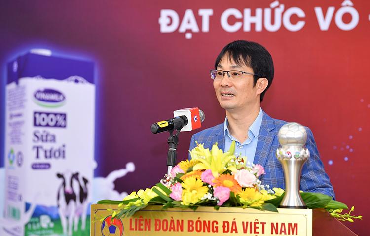 Ông Phan Minh Tiên phát biểu tại sự kiện.