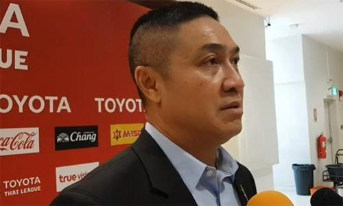 Piyapong lo khi Thái Lan chuẩn bị đón Việt Nam. Ảnh: SiamSport