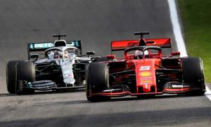 Mercedes d? ?oán chi?n thu?t núp gió ? Grand Prix Italy