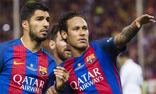 Neymar từng là một thành viên quan trọng của hàng công Barca.