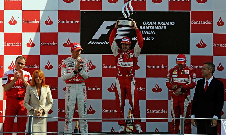 由于费尔南多·阿隆索,法拉利在蒙扎的最后一场胜利是在2010年。 照片:赛车迷。