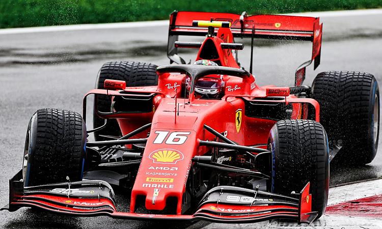 Leclerc tiếp tục phong độ cao sau chiến thắng ở GP Bỉ cuối tuần trước. Ảnh:XPB.