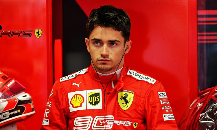 Leclerc lo lắng khi Mercedes được dự báo có nhanh hơn Ferrari ở vòng đua chính Monza. Ảnh: XPB.