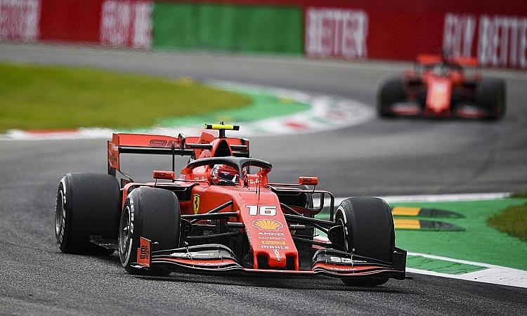 Leclercnhanh hơn Vettel ở vòng phân hạng chặng thứ bảy liên tiếp. Ảnh: Motorsport.