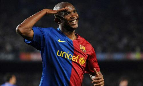 Etoo là một huyền thoại thực sự của bóng đá lục địa đen. Ảnh: Reuters