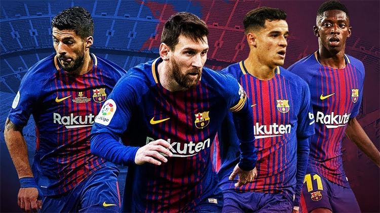 Tiêu số tiền nhiều hơn gấp rưỡi khoản thu về từ vụ bán Neymar để mua Coutinho, Dembele trong hai năm qua, nhưng Barca vẫn không thể gặt hái thành công như Neymar từng có khi chơi cạnh Suarez và Messi. Ảnh: FCB.
